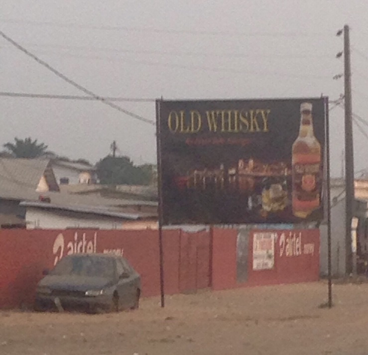 Old Whisky Billboard