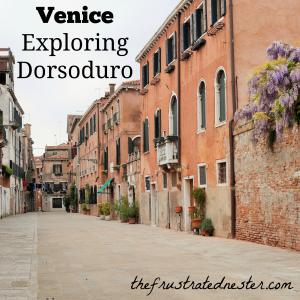 Venice Exploring Dorsoduro
