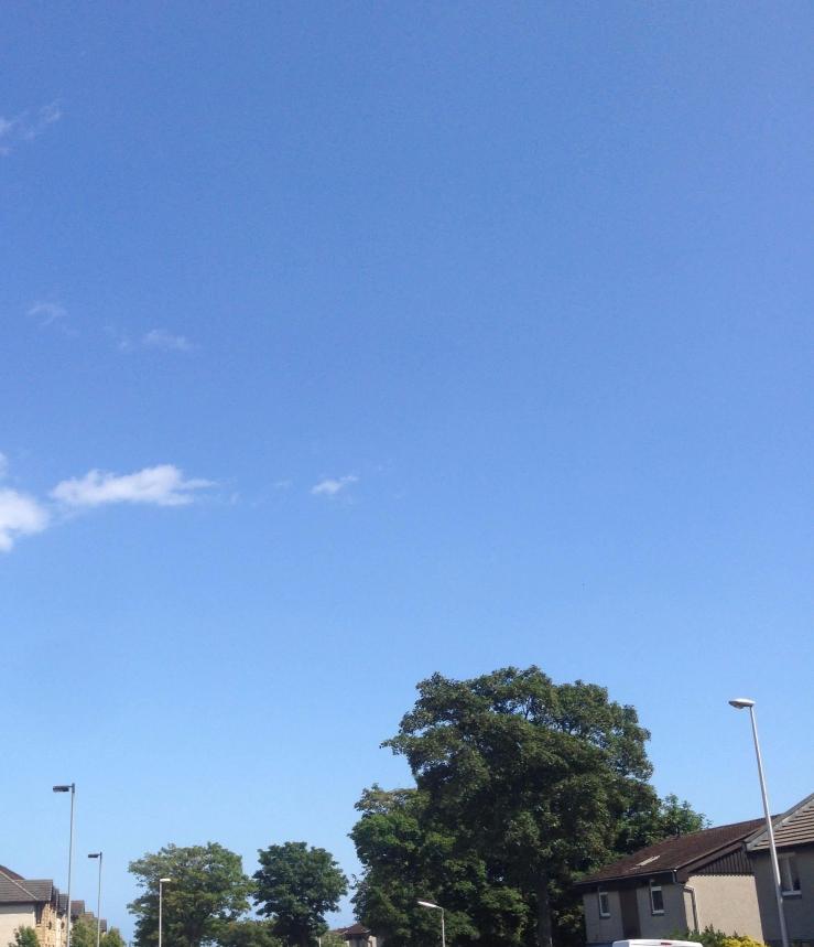 Aberdeen blue sky