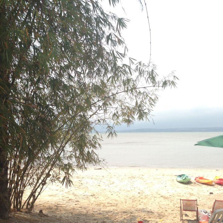 Congo grey sky
