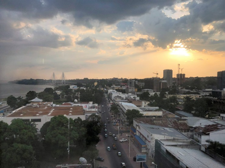 Radisson Brazzaville view