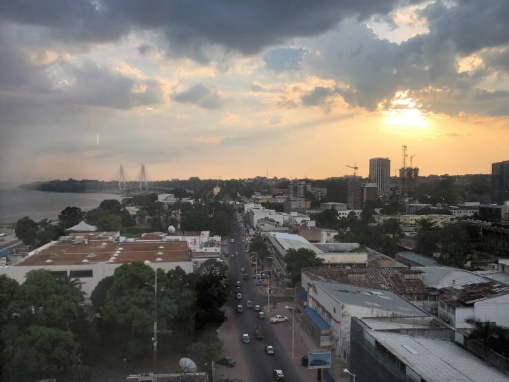 Radisson Brazzaville view