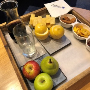 Radisson snack tray