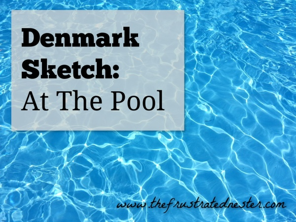 Denmark Sketch_ At the Pool