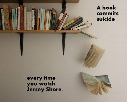 Jersey Shore Book Suicide
