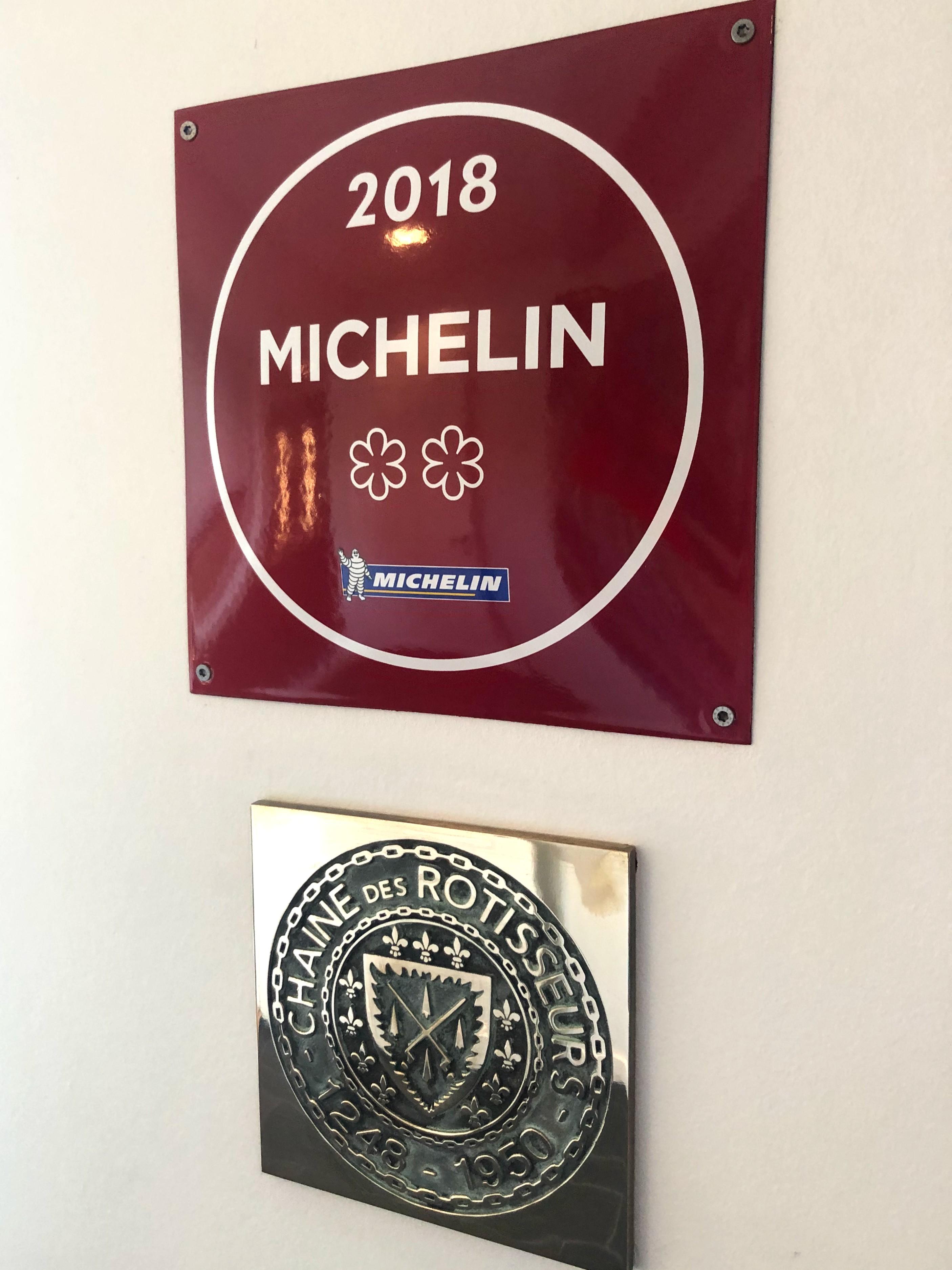 Two Michelin stars