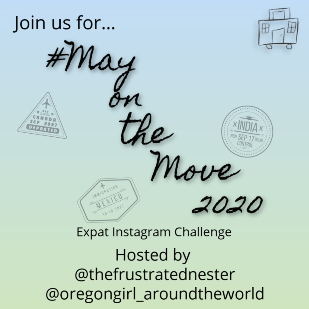May on the Move 2020 announcement graphic