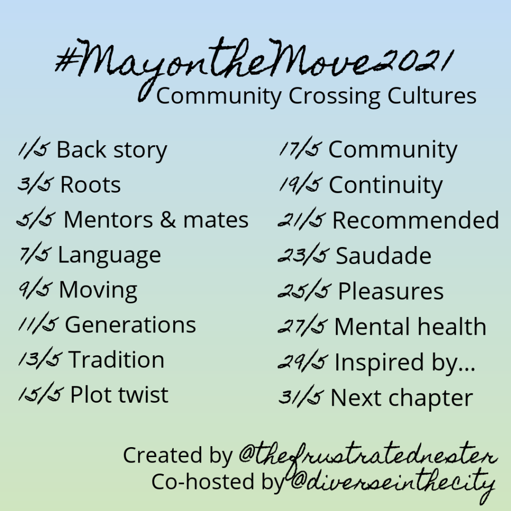 May on the Move Prompt list